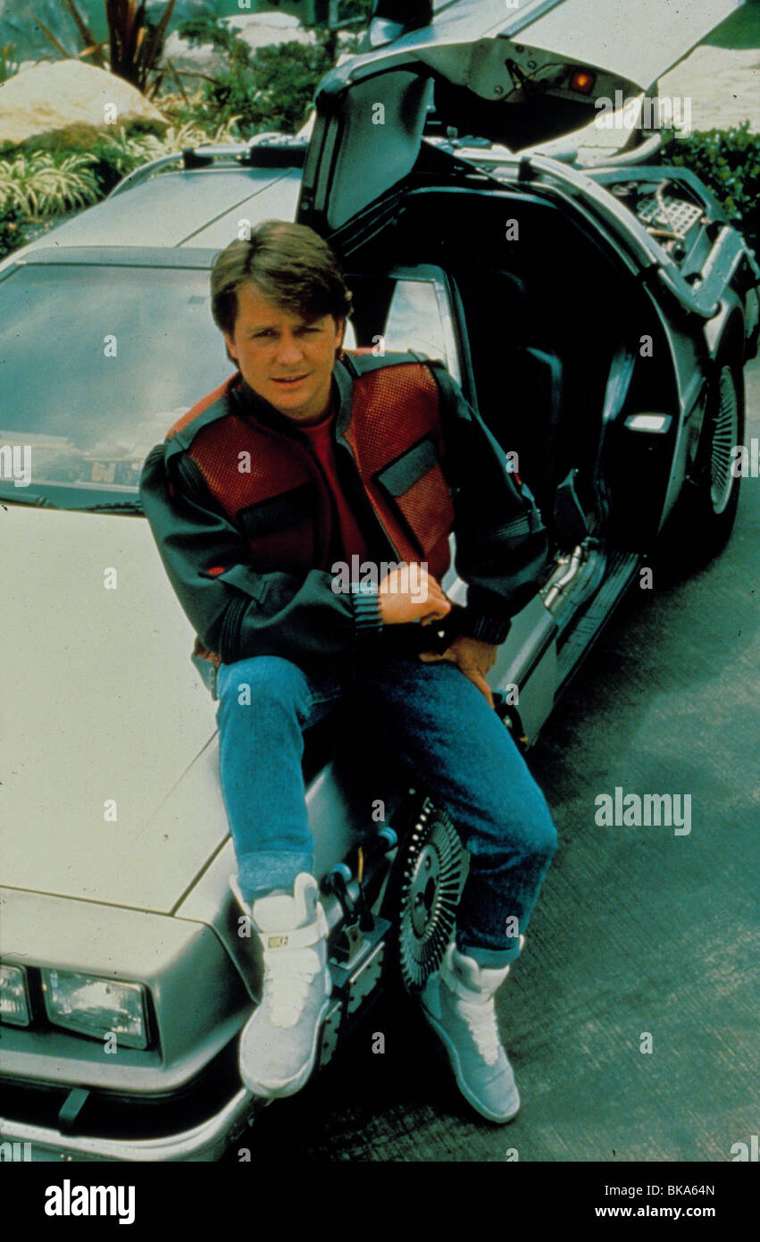 Back To The Future Part Ii 1989 Back To The Future 2 Michael J Fox Stock Photo Alamy