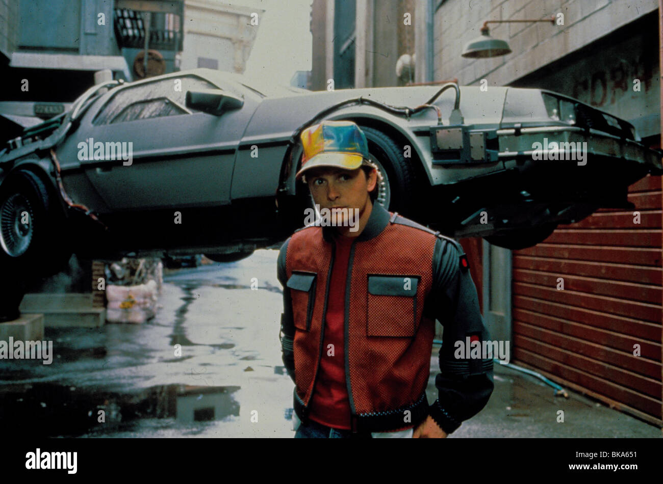 Back To The Future Part Ii 1989 Back To The Future 2 Alt Michael Stock Photo Alamy