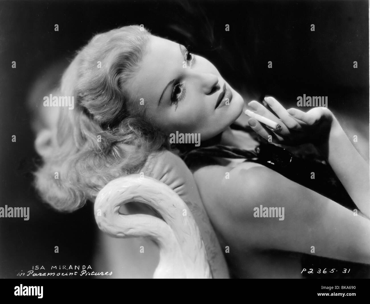 Isa Miranda Italian actress 1905 - 1982 Circa 1940 Stock Photo