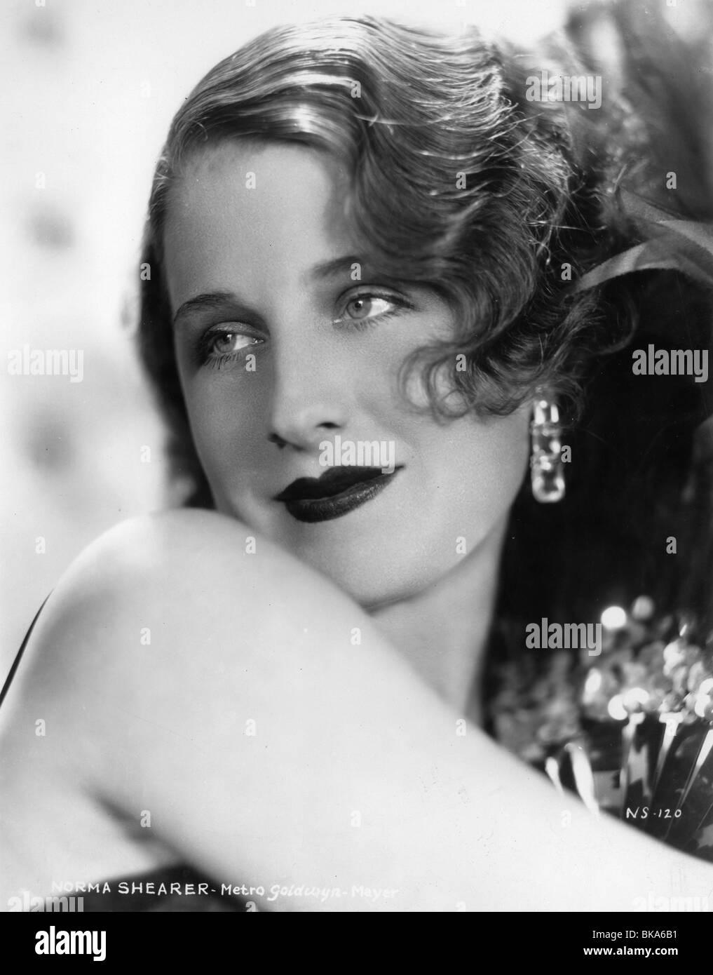 Norma Shearer American actress (born in Canada) 1902 - 083 Circa 1930 - Stock Image