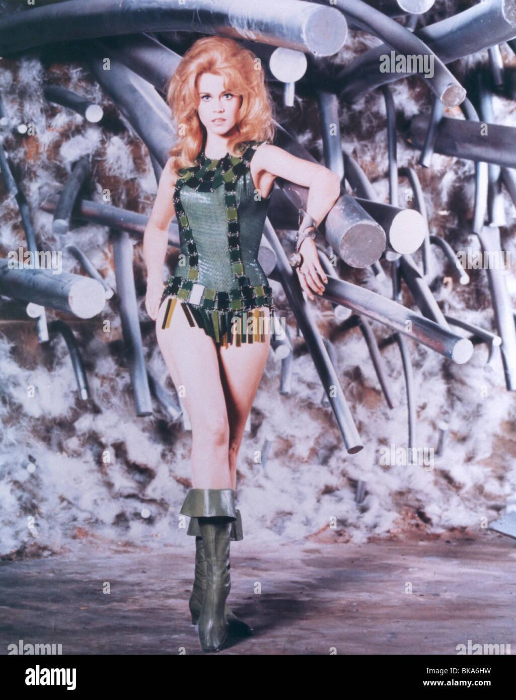 BARBARELLA (1967) JANE FONDA, BARBARELLA BRB 003CP Stock Photo
