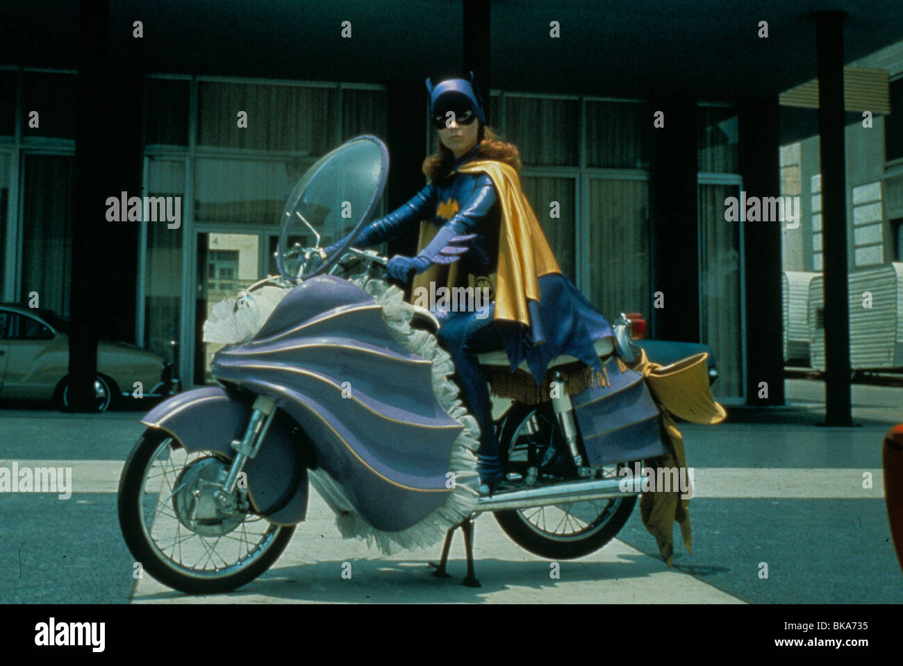 BATMAN (TV) YVONNE CRAIG - Stock Image