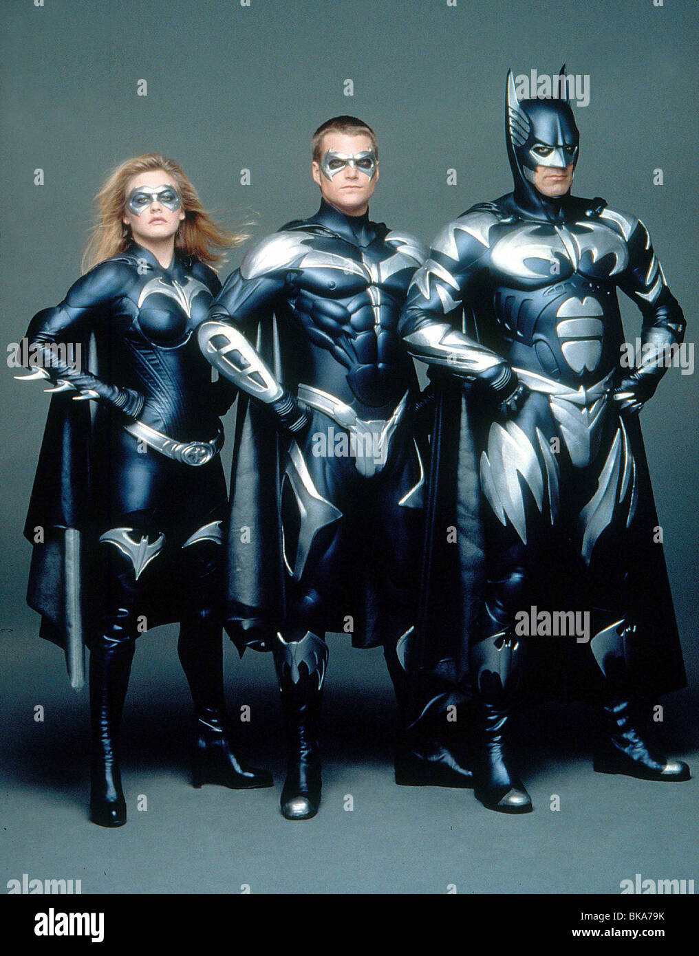 Batman Robin 1997 Batman And Robin Alt Alicia Silverstone Stock Photo Alamy