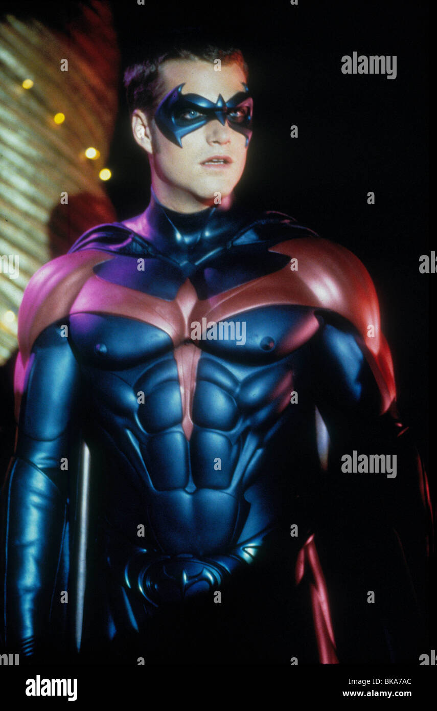 Batman Robin 1997 Batman And Robin Alt Chris O Donnell Baro 018 Stock Photo Alamy