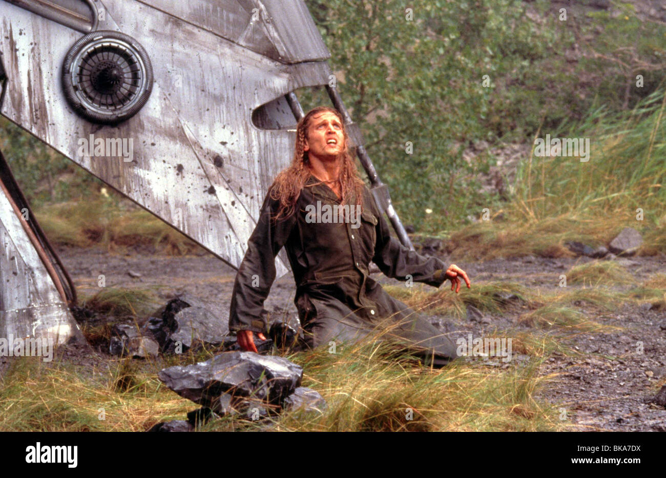 BATTLEFIELD EARTH (2000) BARRY PEPPER BATE 003 - Stock Image