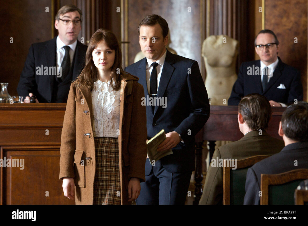 An Education Year : 2009 - UK Director : Lone Scherfig   Peter Sarsgaard, Carey Mulligan - Stock Image