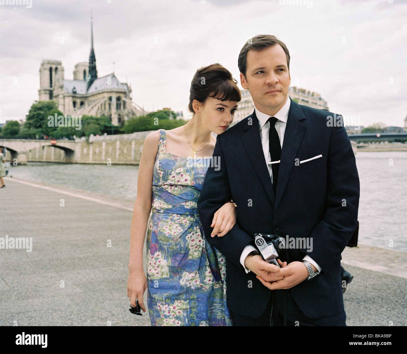 An Education Year : 2009 - UK Director : Lone Scherfig   Carey Mulligan, Peter Sarsgaard - Stock Image