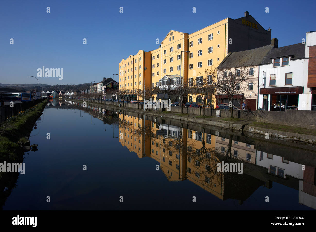 The Canal Court Hotel on the Newry canal County down northern ireland uk - Stock Image