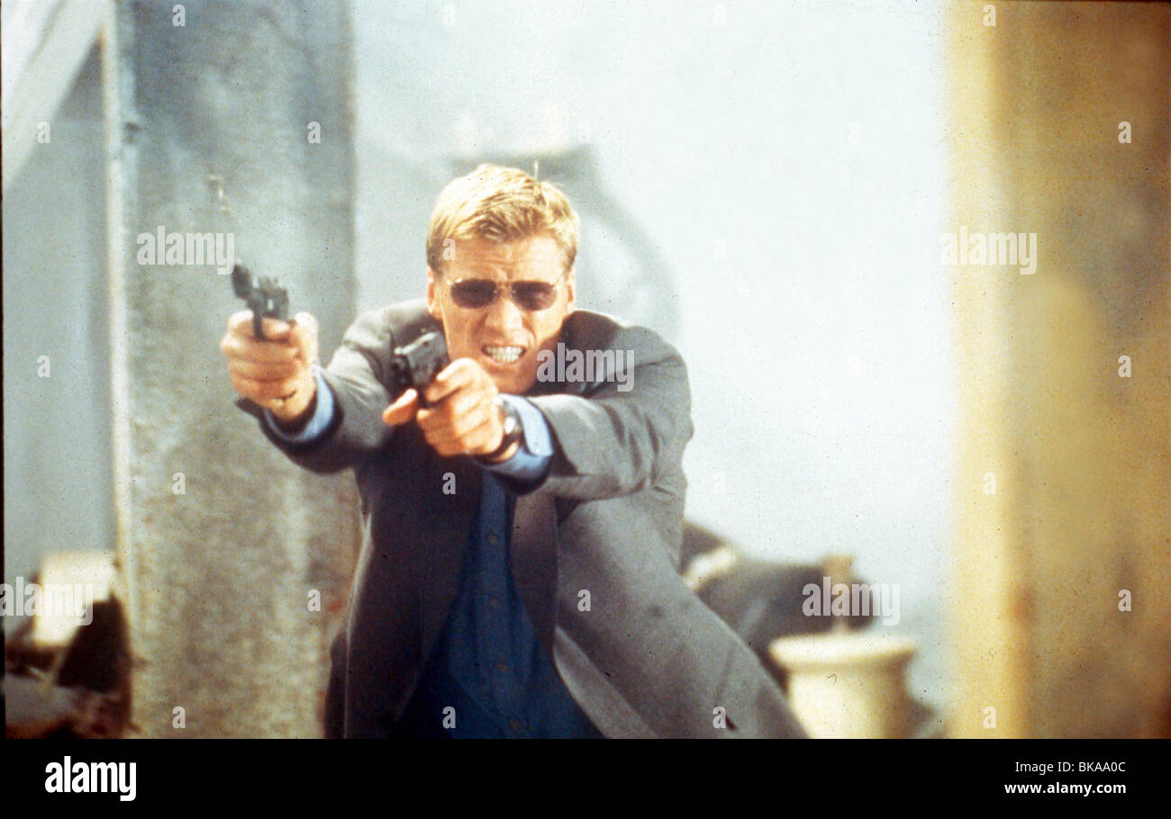 BLACKJACK -1998 DOLPH LUNDGREN - Stock Image