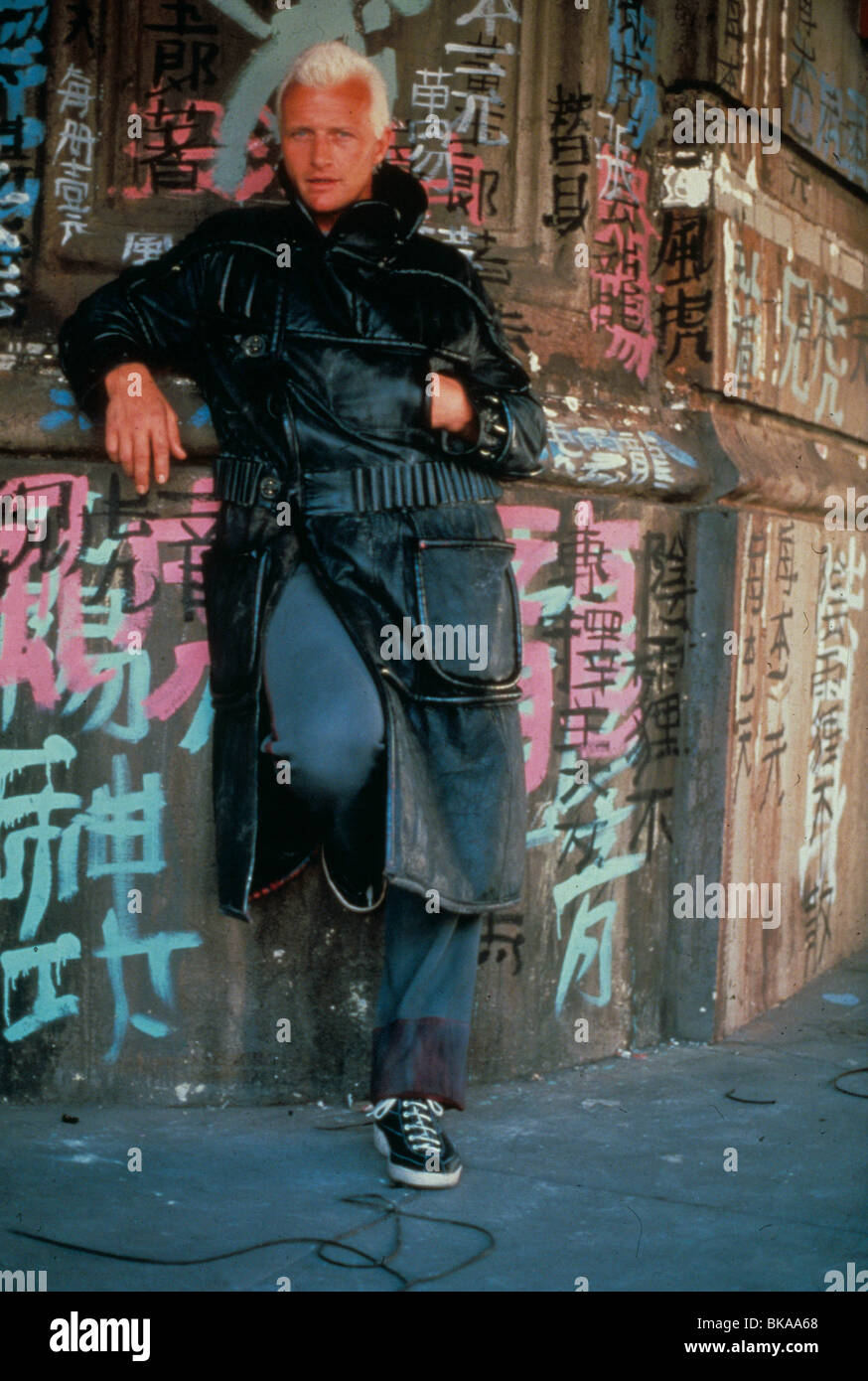 BLADE RUNNER -1982 RUTGER HAUER Stock Photo