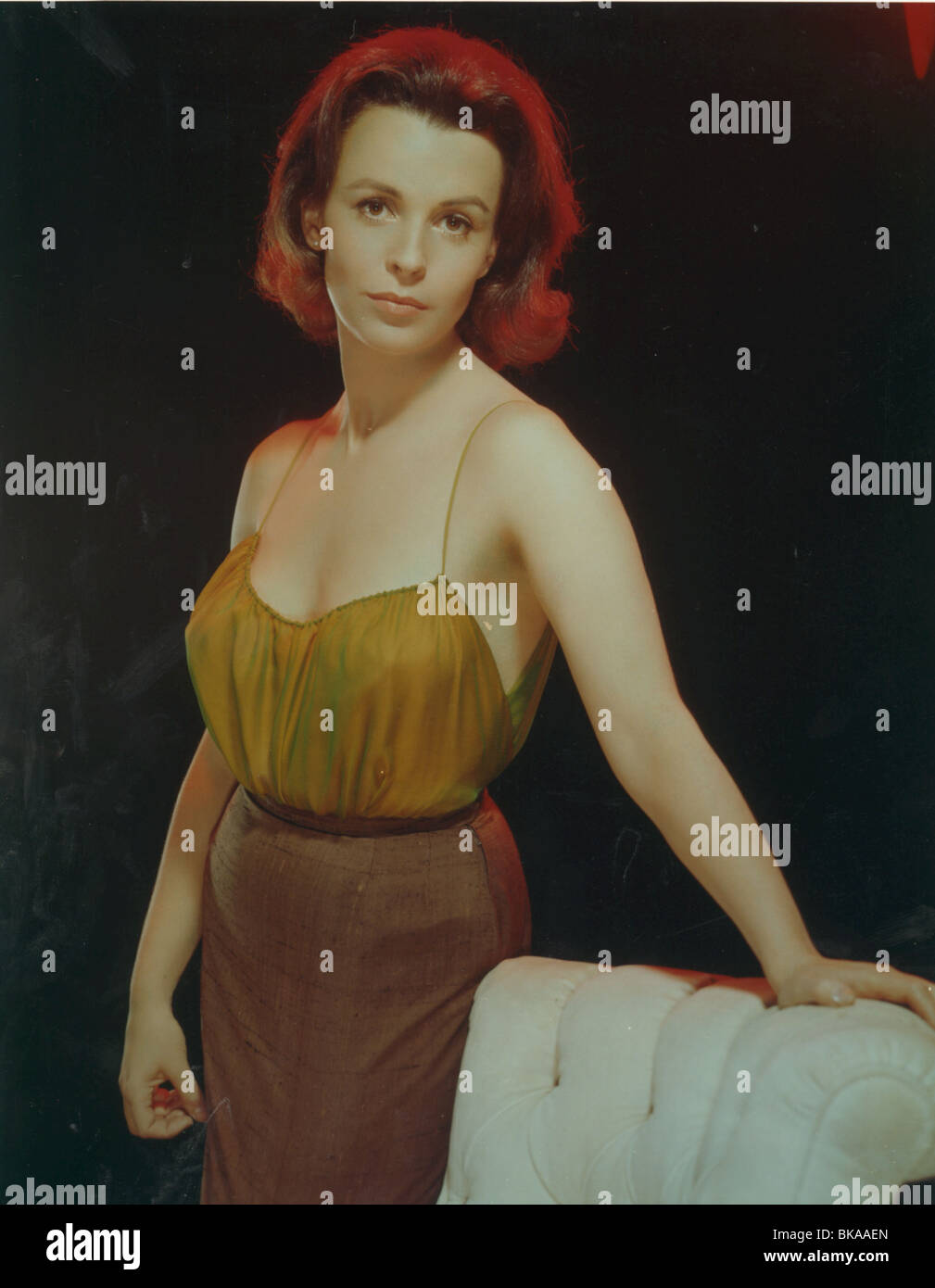 CLAIRE BLOOM PORTRAIT - Stock Image