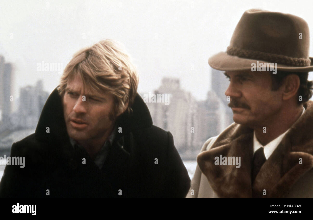 The Three days of The Condor Year : 1975 USA Director : Sydney Pollack Robert Redford, Cliff Robertson - Stock Image