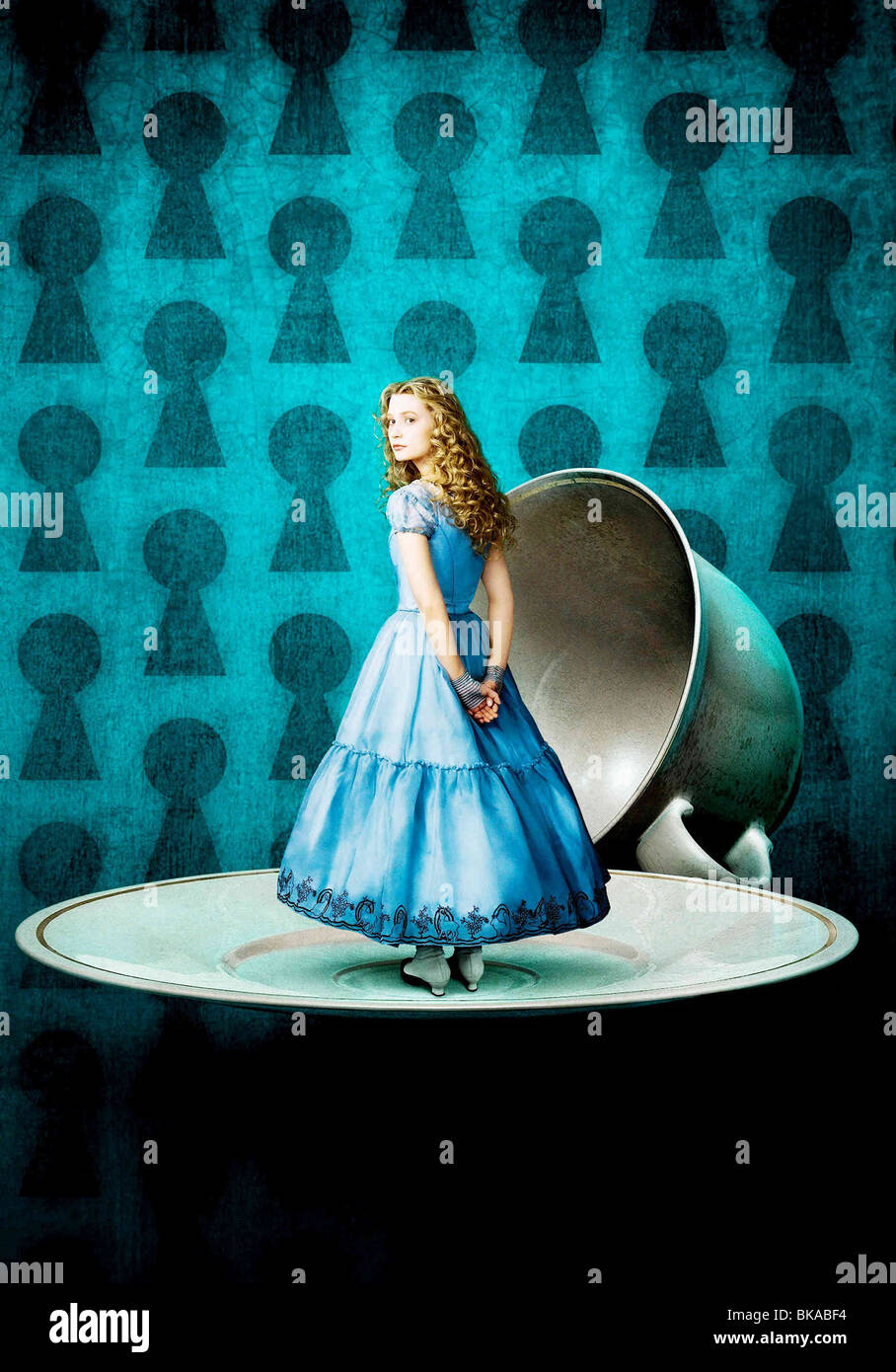 Alice in Wonderland Year: 2010 - USA Director: Tim Burton Mia Wasikowska - Stock Image
