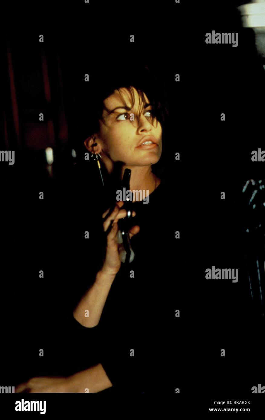 BOUND -1996 GINA GERSHON - Stock Image