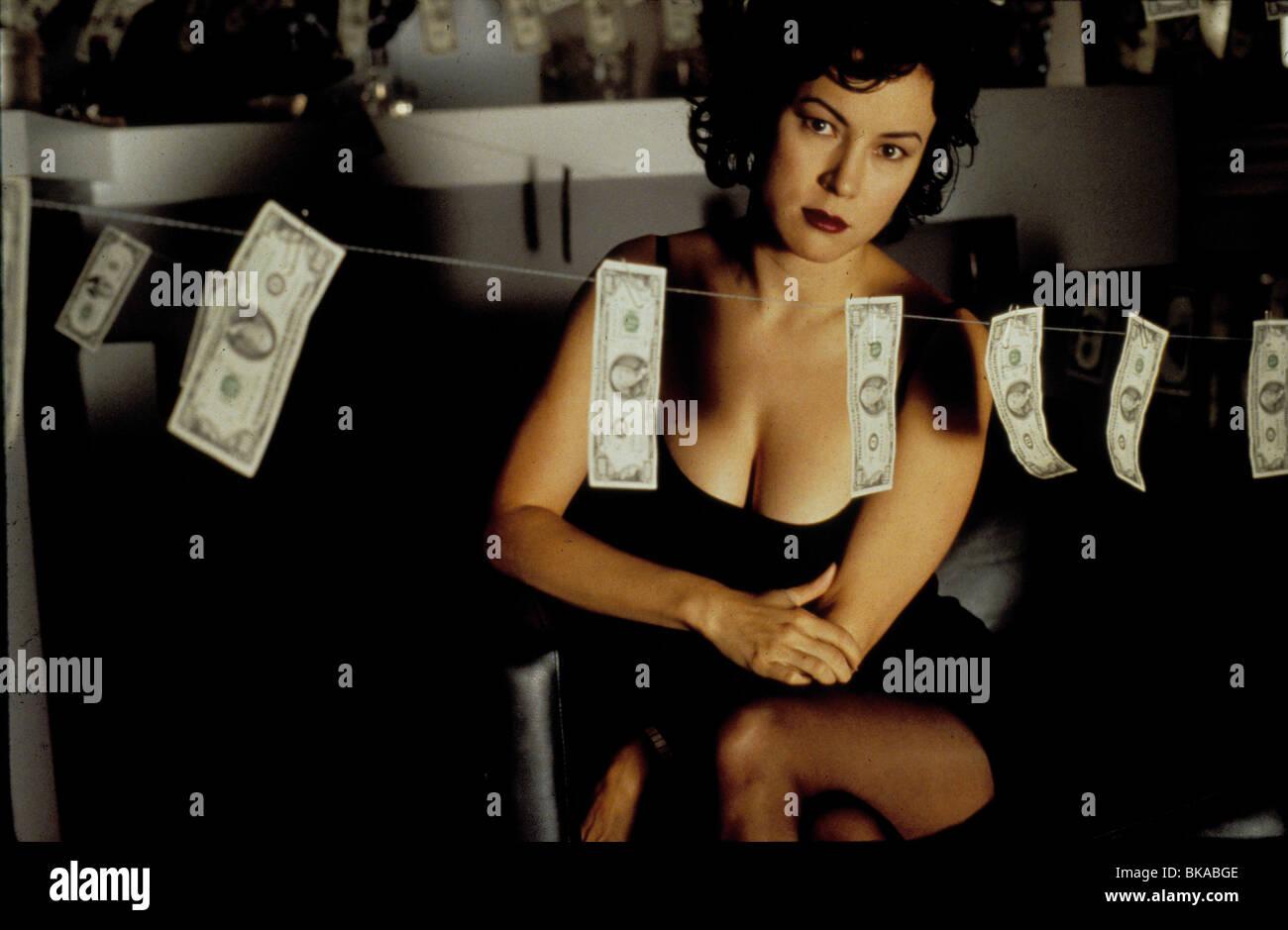 BOUND -1996 JENNIFER TILLY - Stock Image