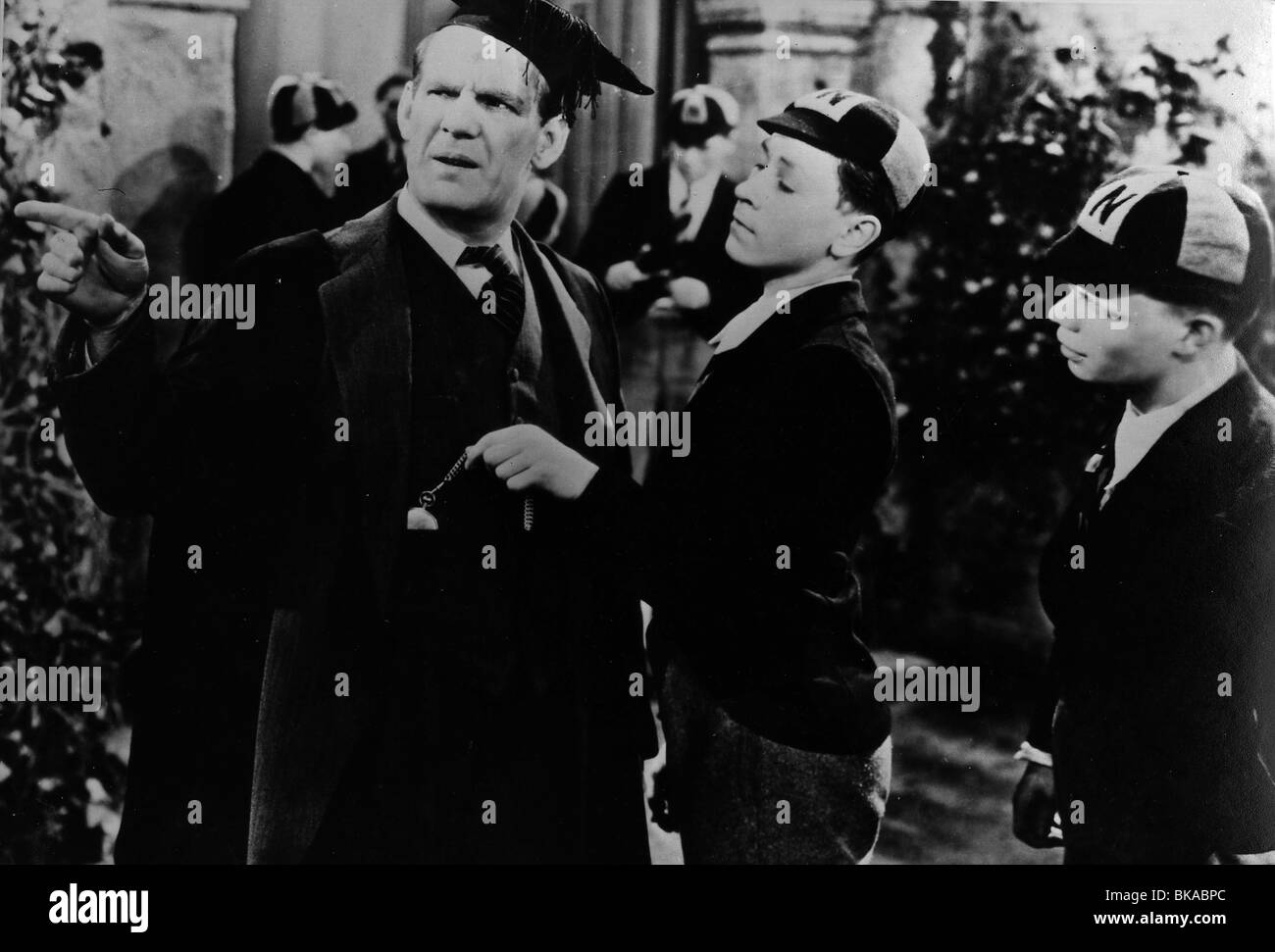 BOYS WILL BE BOYS (1935) WILL HAY BWB 001P - Stock Image