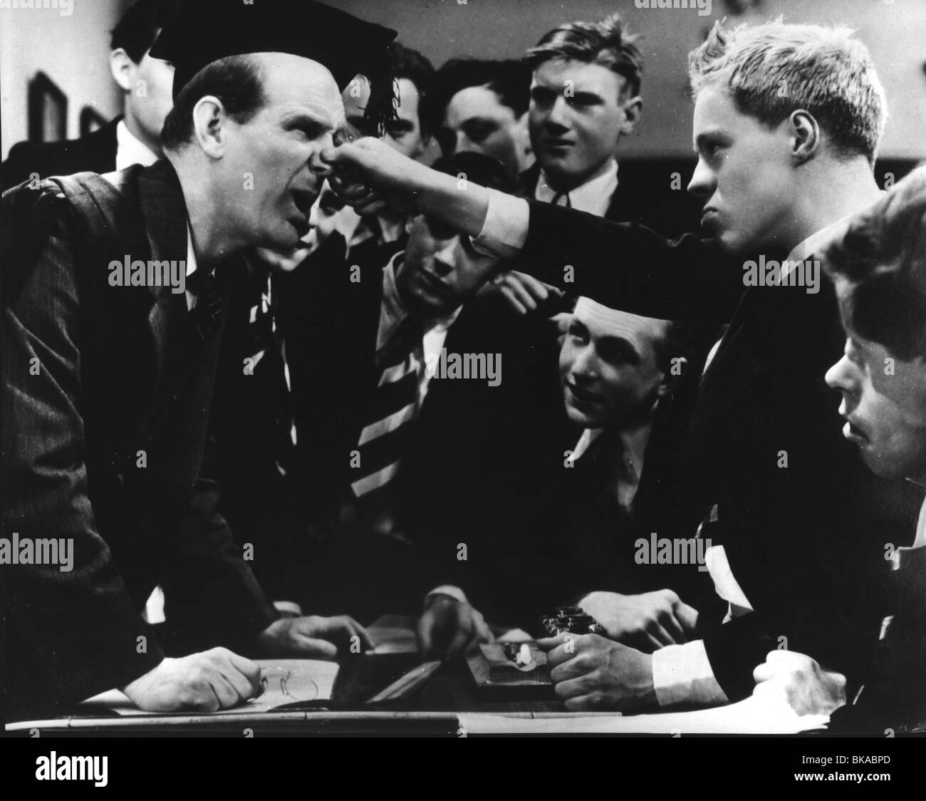 BOYS WILL BE BOYS (1935) WILL HAY BWB 002P - Stock Image