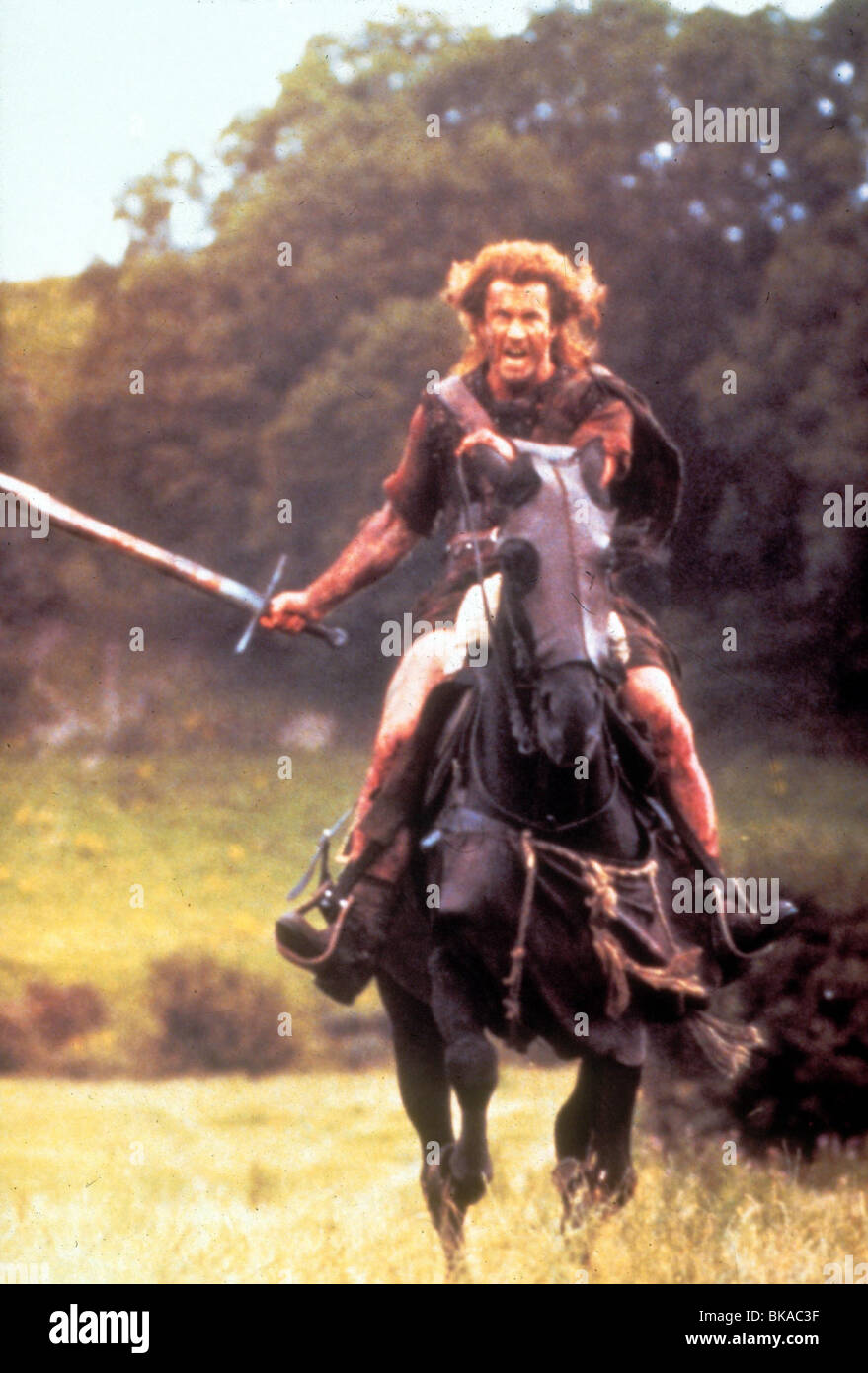 Braveheart 1995 Film Stock Photos Braveheart 1995 Film Stock