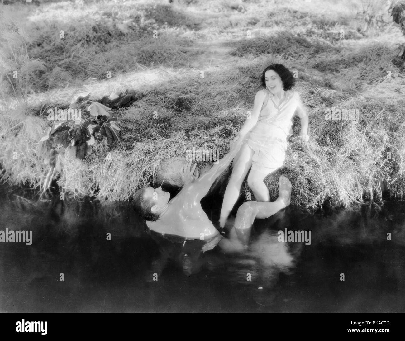 Photograph of naked couple