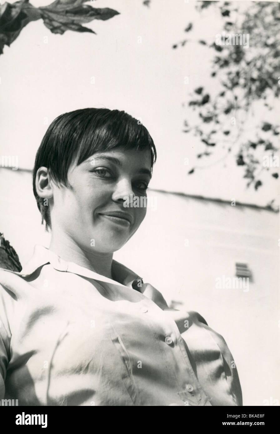 LESLIE CARON PORTRAIT - Stock Image