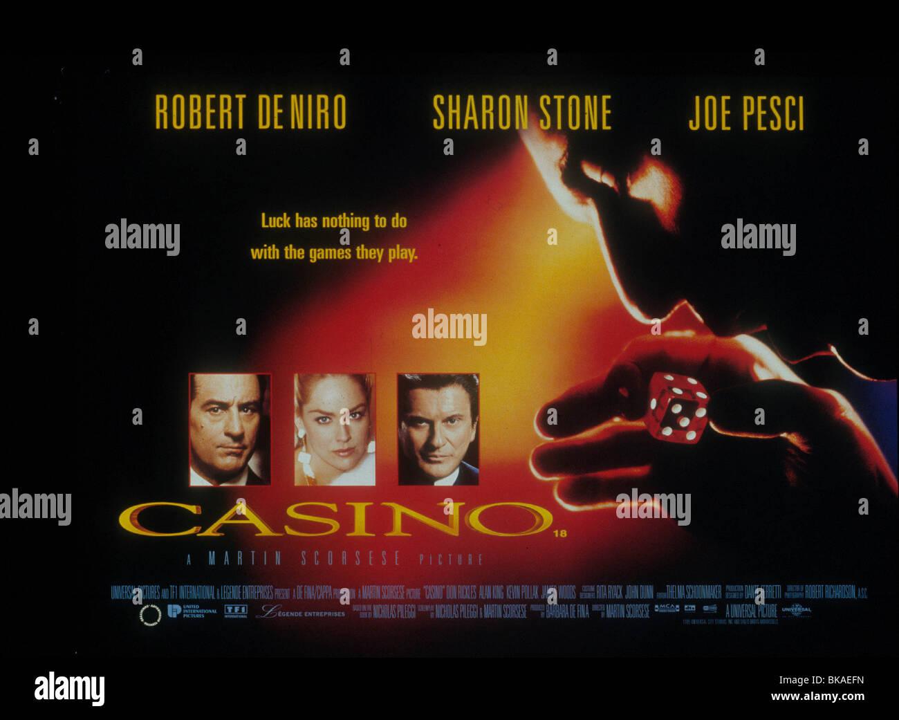 CASINO -1995 POSTER - Stock Image