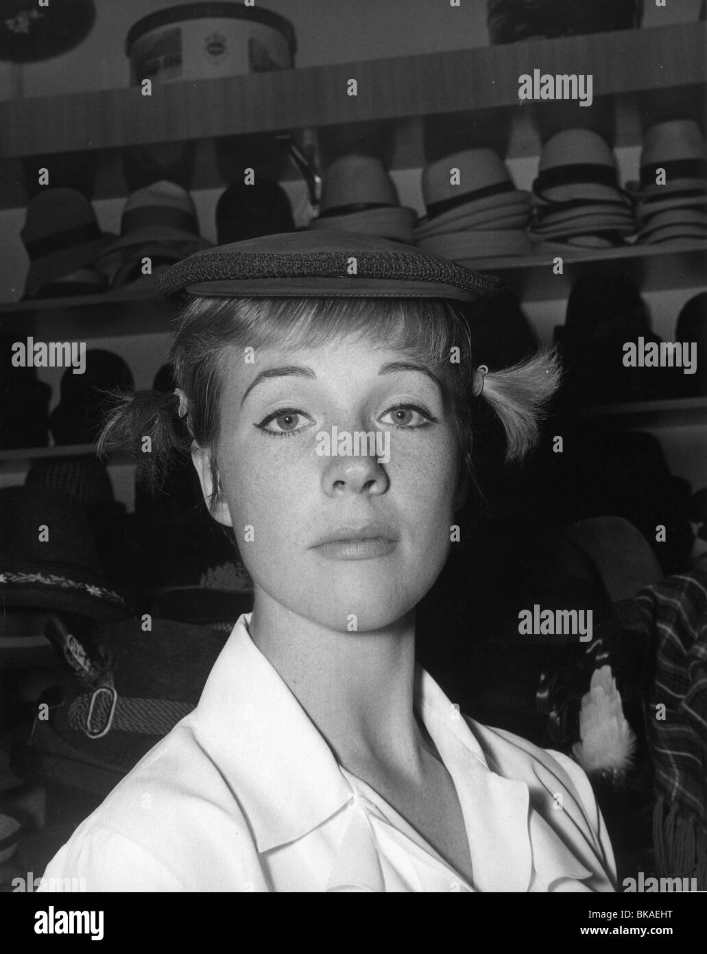 Julie Andrews circa 1965 - Stock Image
