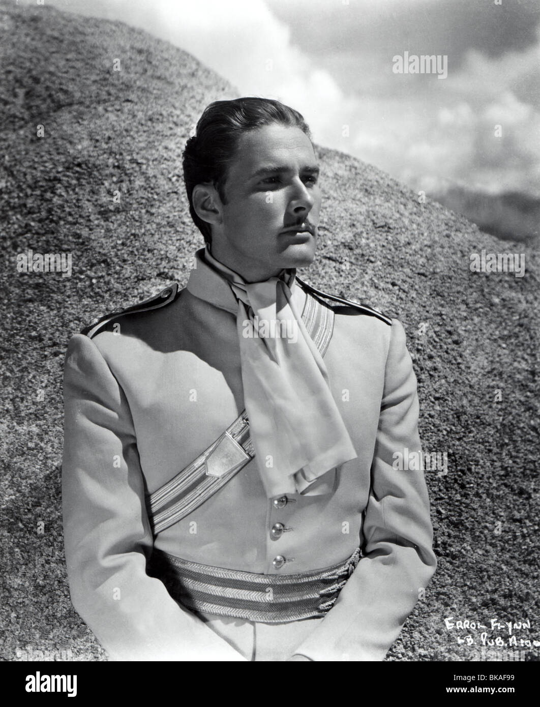 THE CHARGE OF THE LIGHT BRIGADE (1936) ERROL FLYNN CLB 005P - Stock Image