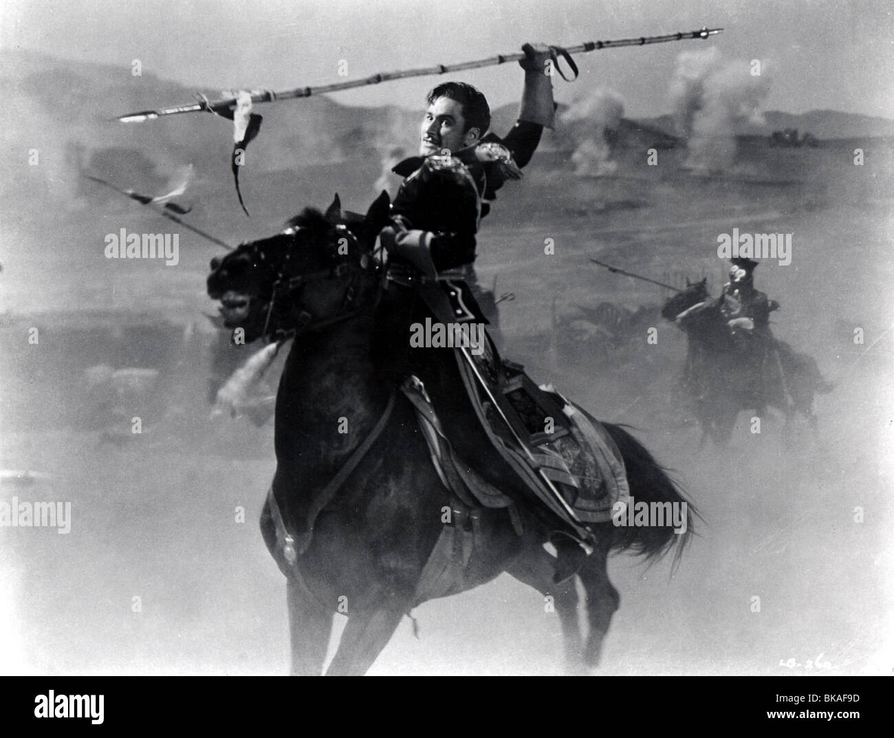 THE CHARGE OF THE LIGHT BRIGADE (1936) ERROL FLYNN CLB 006P - Stock Image