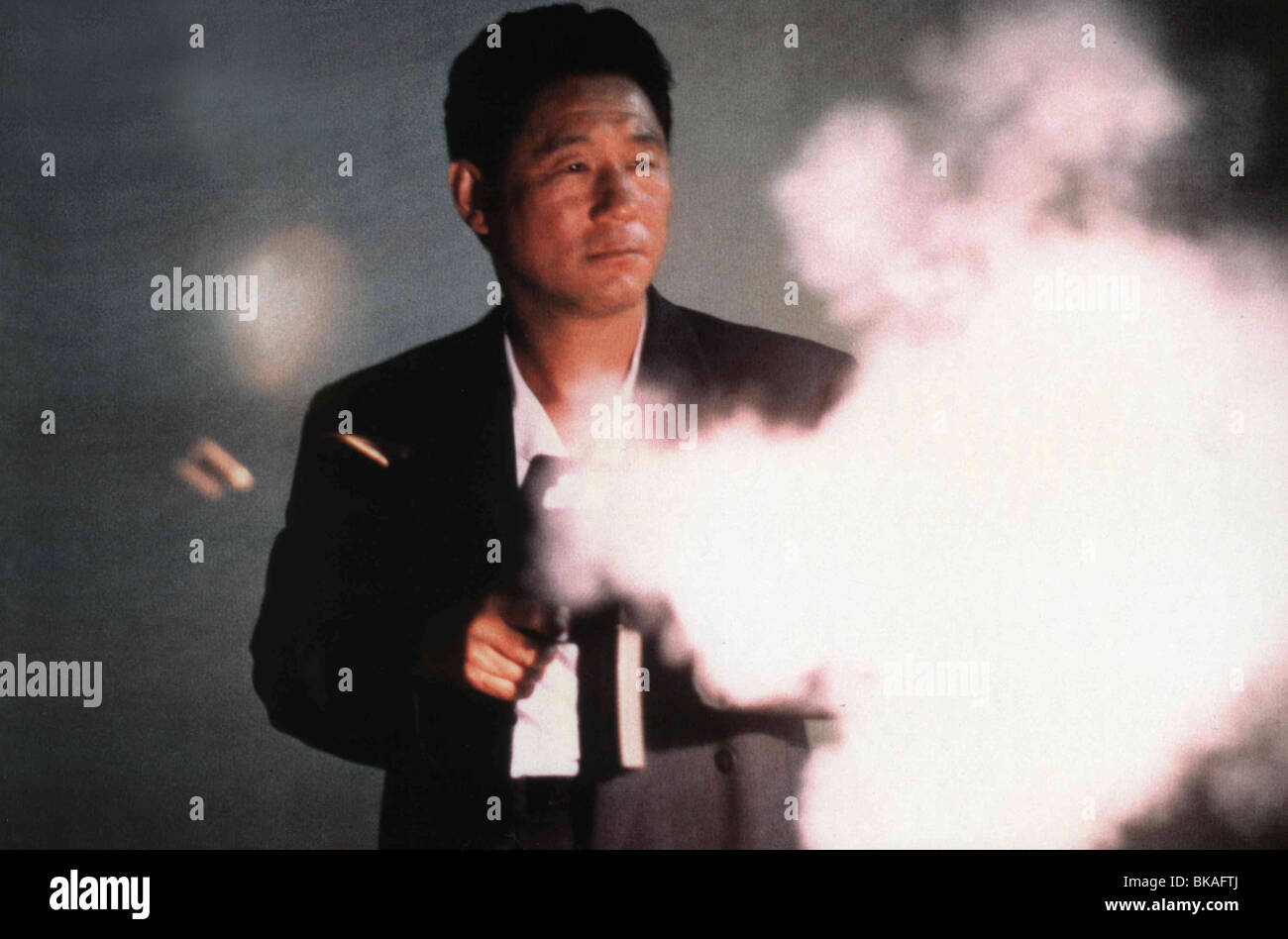 Sonatine  Year : 1993 Japan Director : Takeshi Kitano Takeshi Kitano - Stock Image