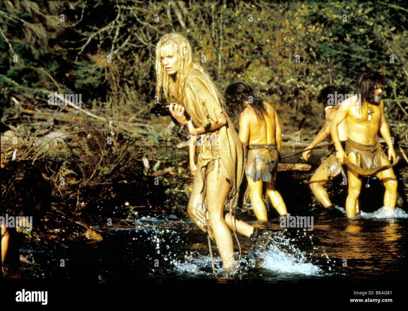 The Clan Of The Clave Bear 1986 Daryl Hannah Cvb 003 Stock Photo