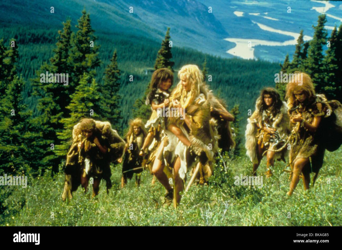 The Clan Of The Cave Bear 1986 Daryl Hannah Cvb 011 Stock Photo