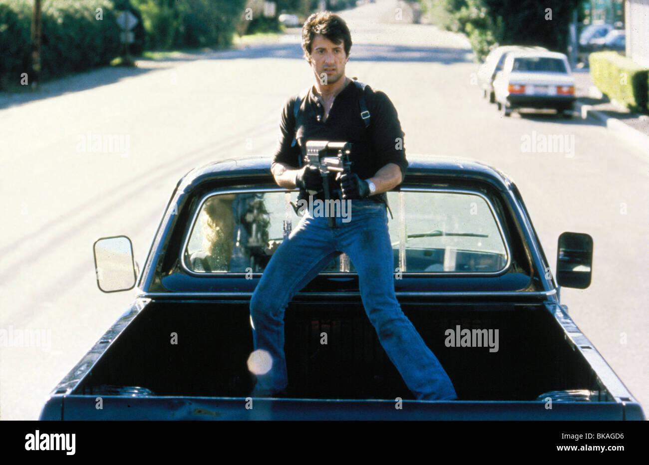 COBRA -1986 SYLVESTER STALLONE - Stock Image
