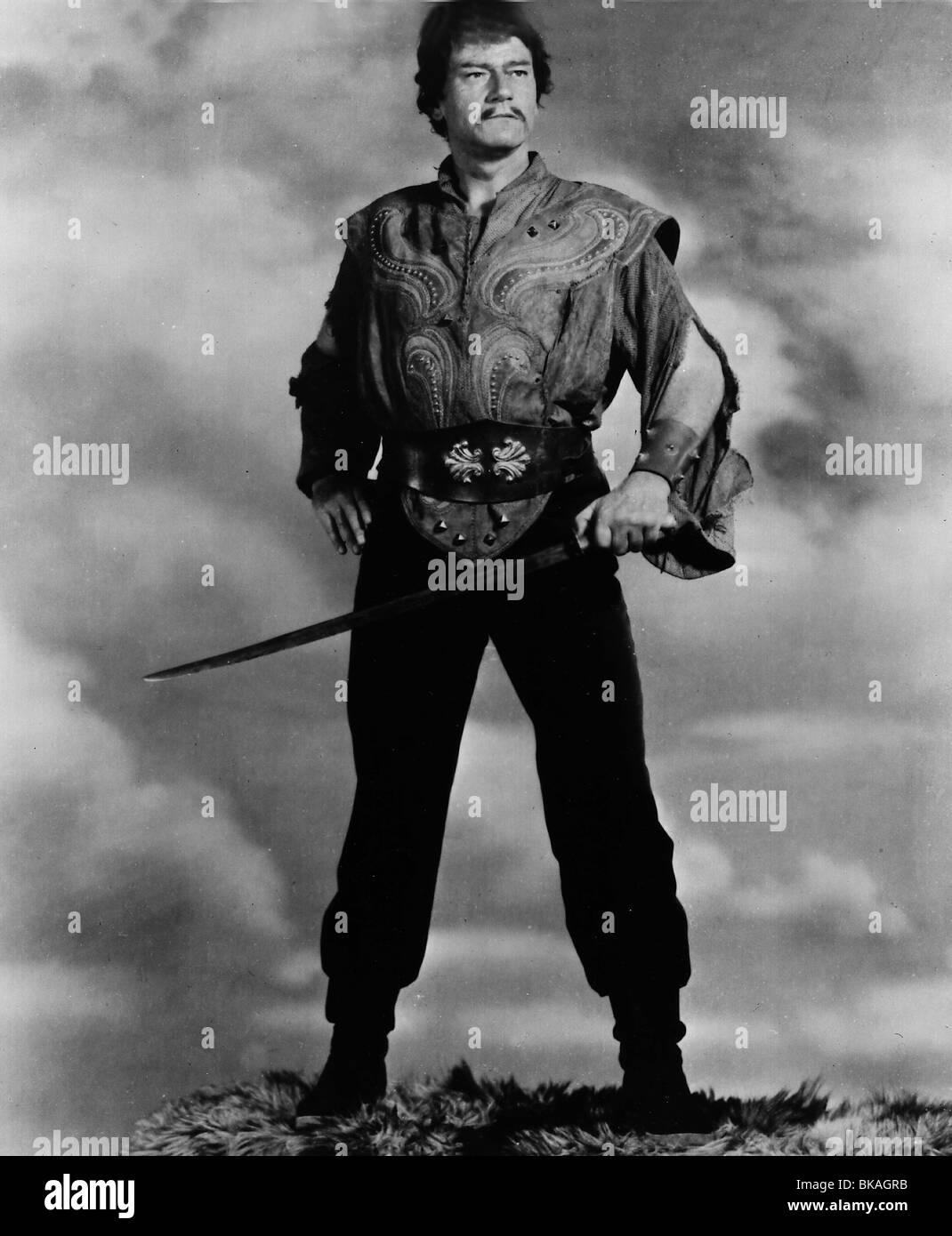 THE CONQUEROR (1955) JOHN WAYNE CONQ 001P - Stock Image