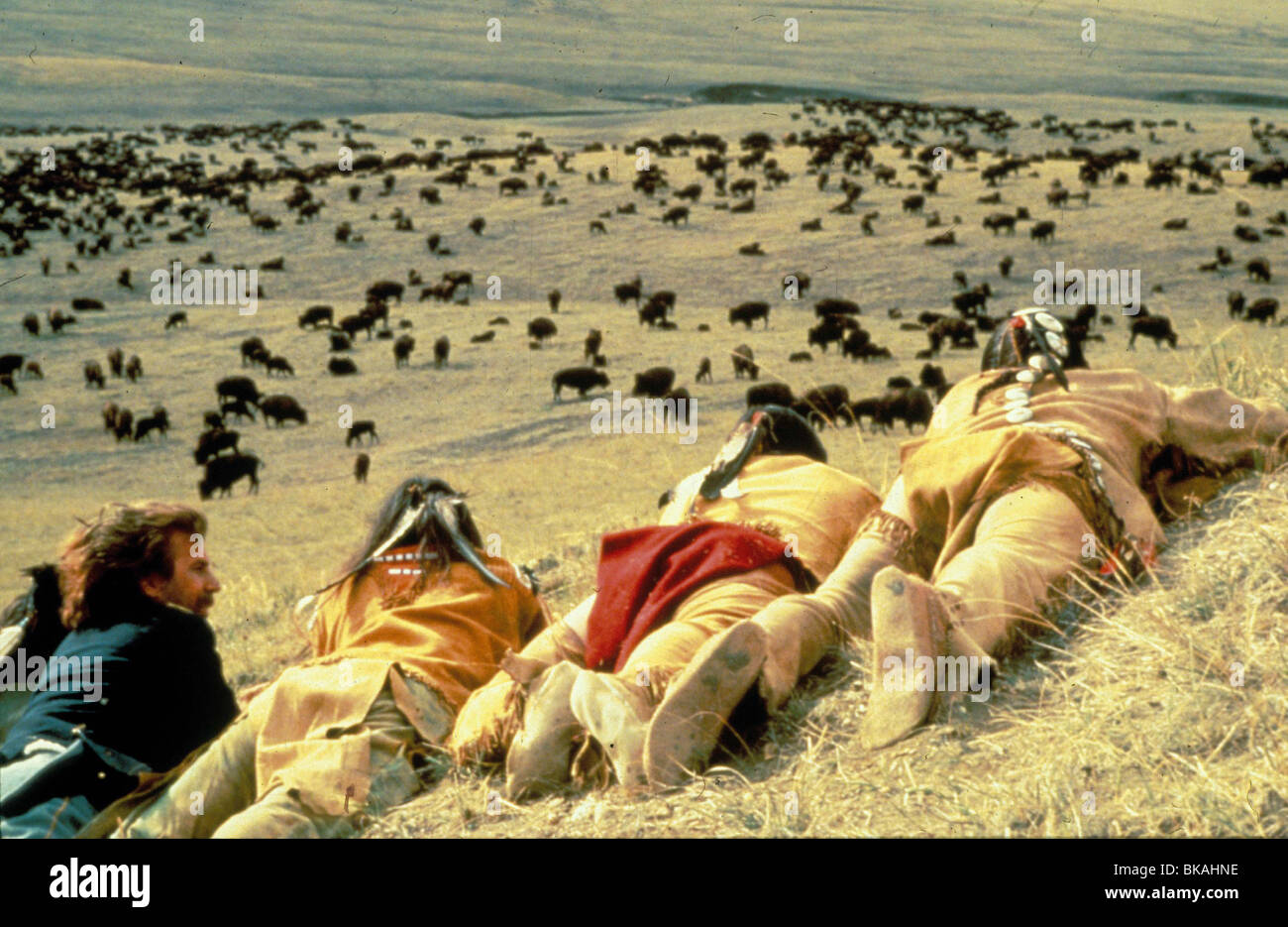 DANCES WITH WOLVES (1990) KEVIN COSTNER DWW 103 - Stock Image