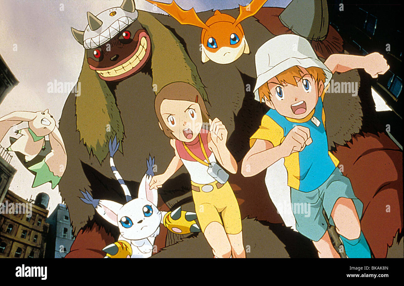 DIGIMON: THE MOVIE -2000 - Stock Image