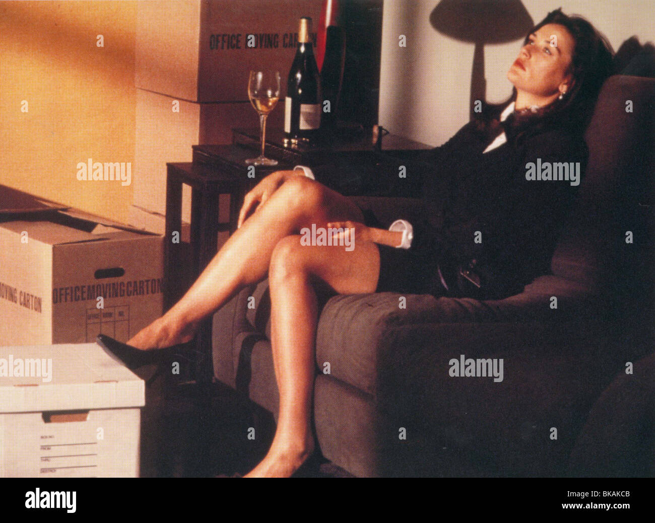 DISCLOSURE -1995 DEMI MOORE - Stock Image