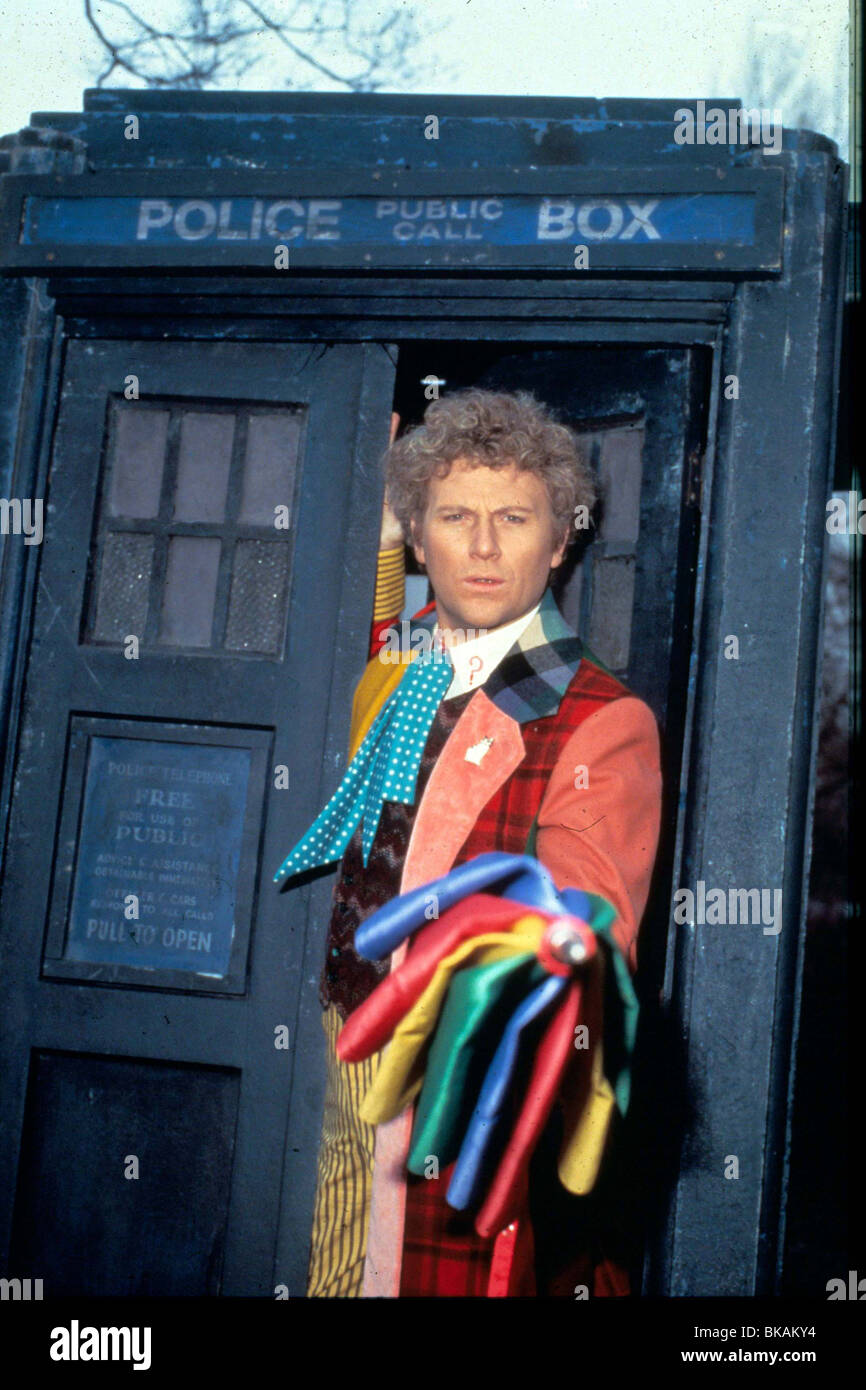 DR WHO (TV) DOCTOR WHO (ALT) COLIN BAKER DRW 003 - Stock Image