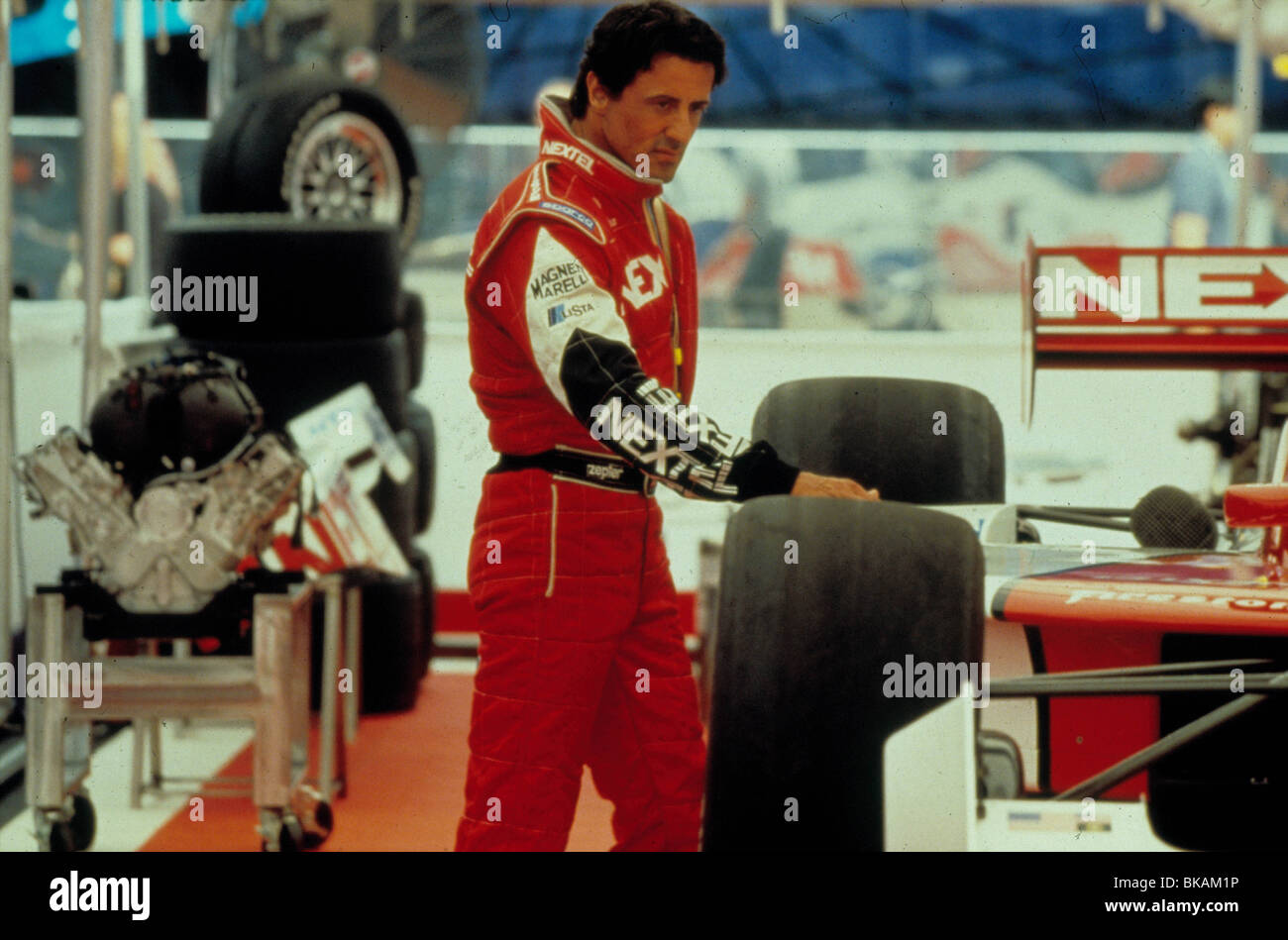DRIVEN -2001 SYLVESTER STALLONE - Stock Image