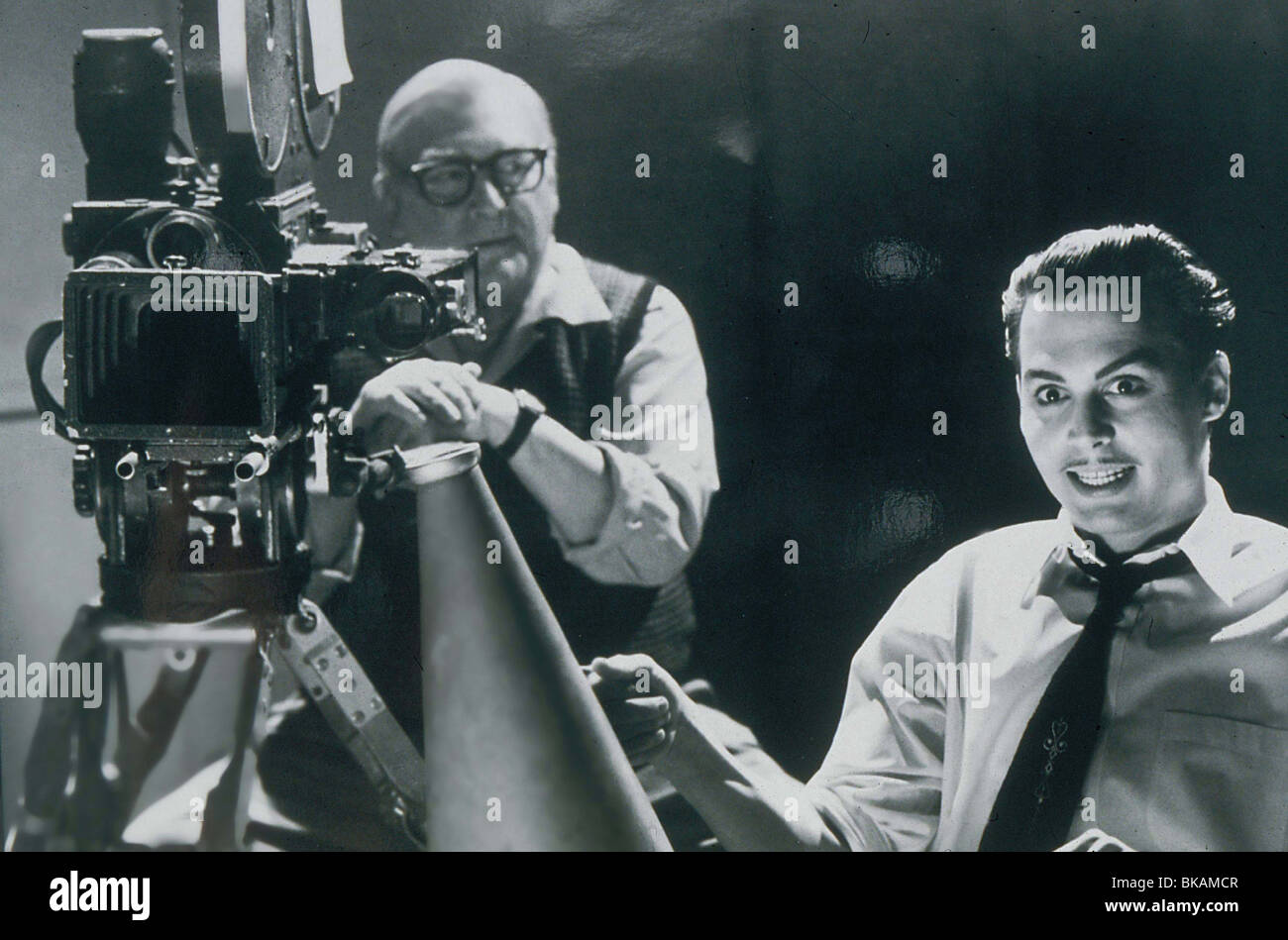 ED WOOD (1994) NORMAN ALDEN, JOHNNY DEPP EDW 023 - Stock Image
