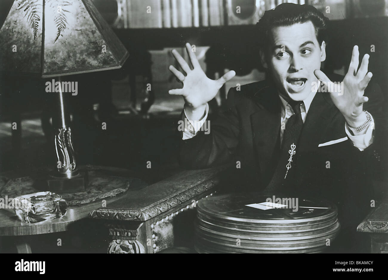 ED WOOD -1994 JOHNNY DEPP - Stock Image