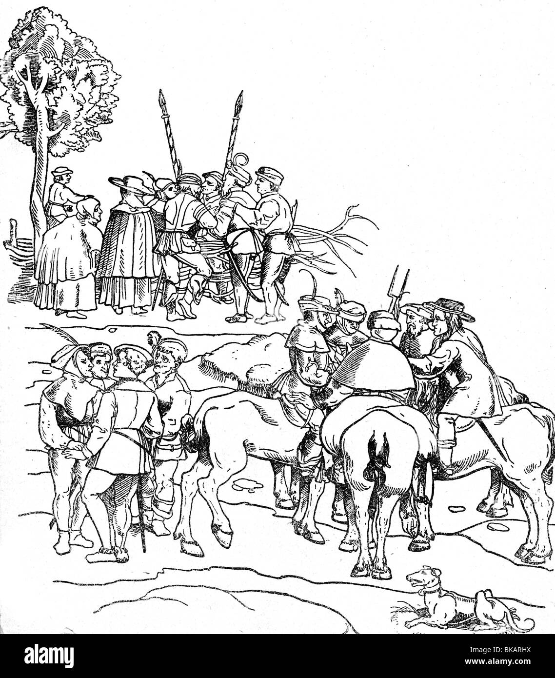 events, German Peasants' War, 1524 / 1525, Additional-Rights-Clearances-NA