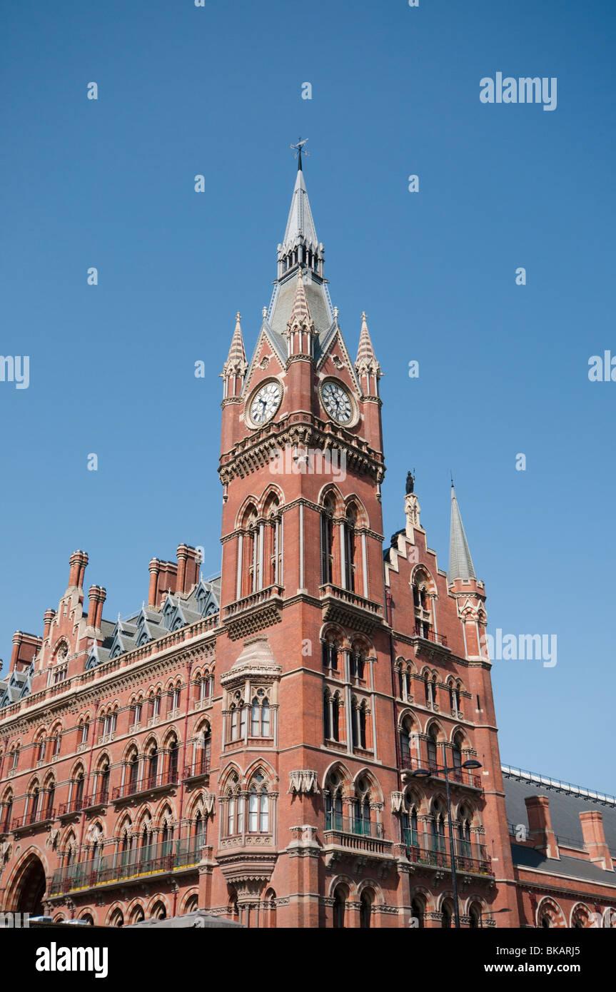 St Pancras International - Stock Image