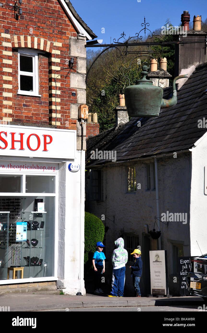 nailsworth gloucestershire town centre stock photos. Black Bedroom Furniture Sets. Home Design Ideas
