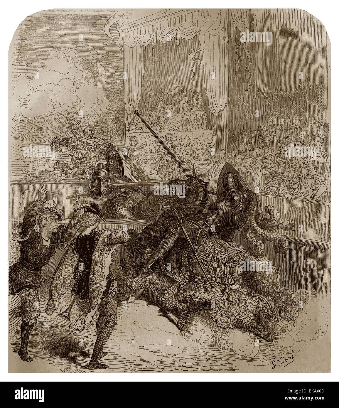 Joust 16th Century Stock Photos & Joust 16th Century Stock