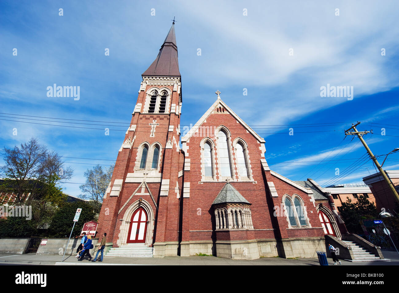 Church of St John the Divine, Victoria, Vancouver Island, British Columbia, Canada - Stock Image