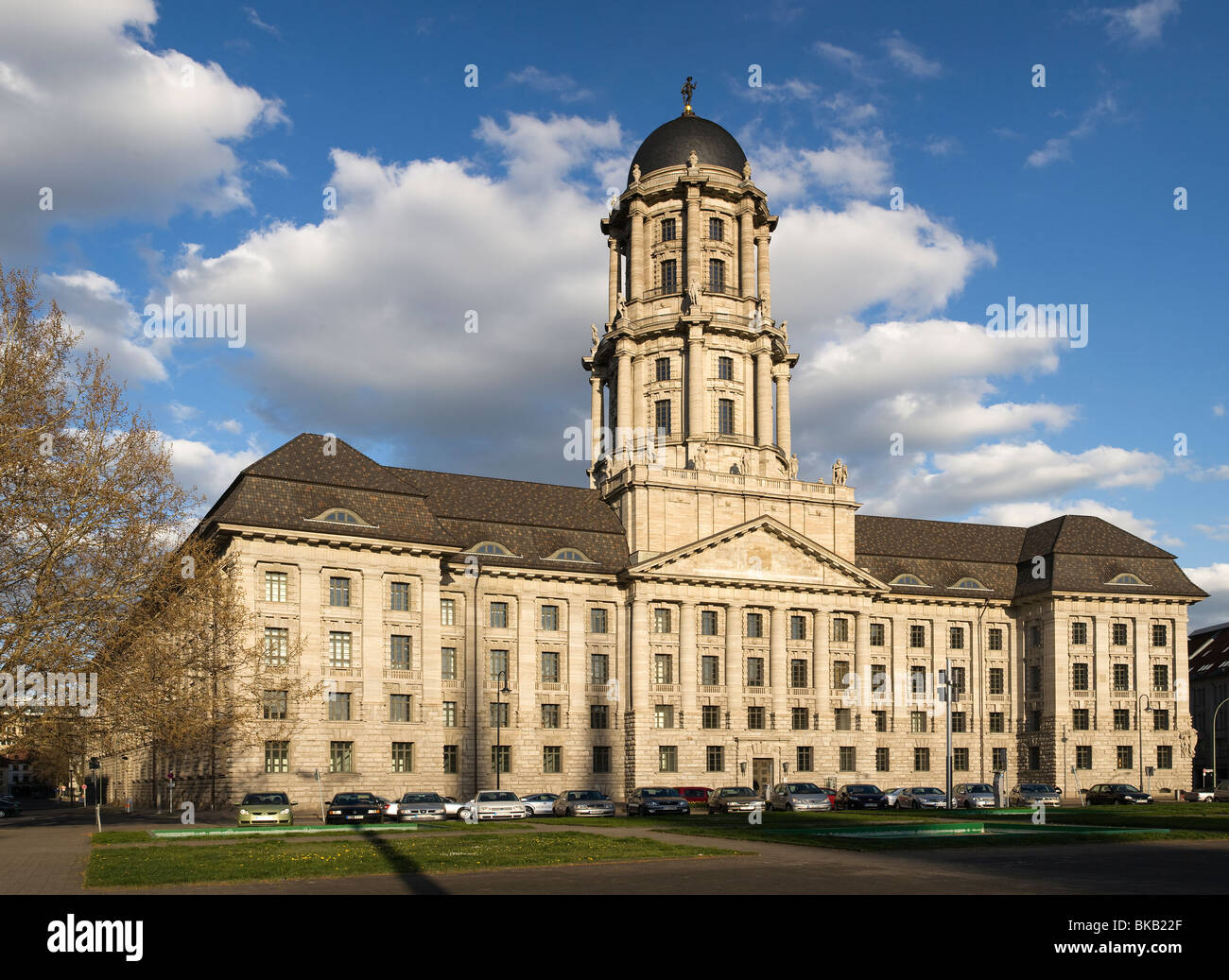 Altes Stadthaus, Molkenmarkt, Berlin, Germany - Stock Image
