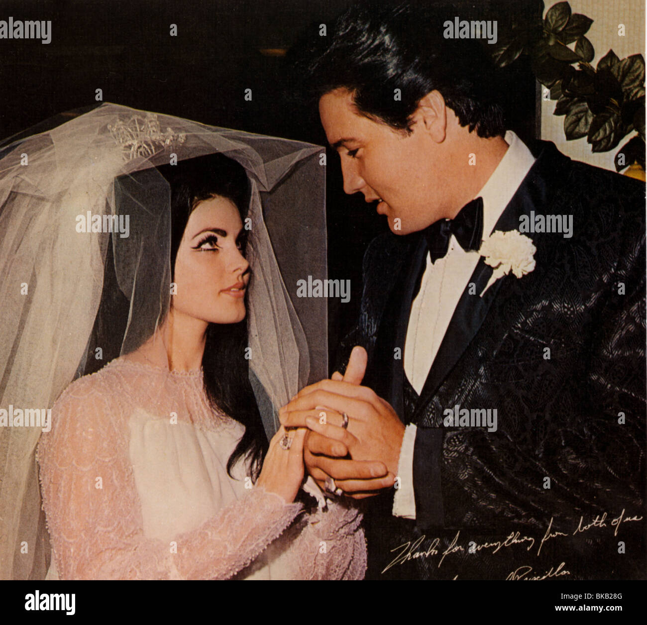 Elvis Wedding: ELVIS PRESLEY MARRIAGE TO PRISCILLA PRESLEY (1967) ELV