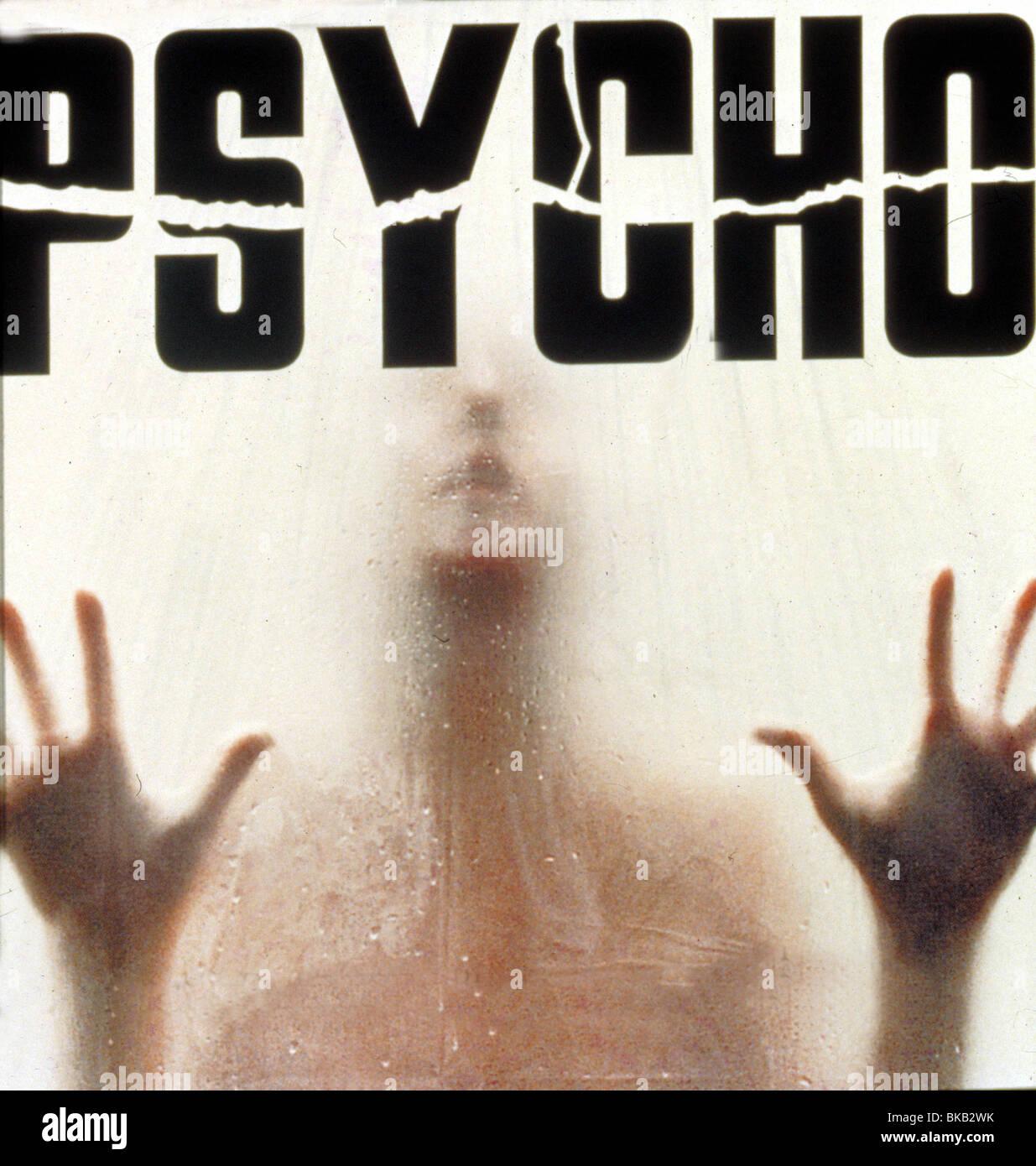 Psycho Film Poster Stock Photos & Psycho Film Poster Stock