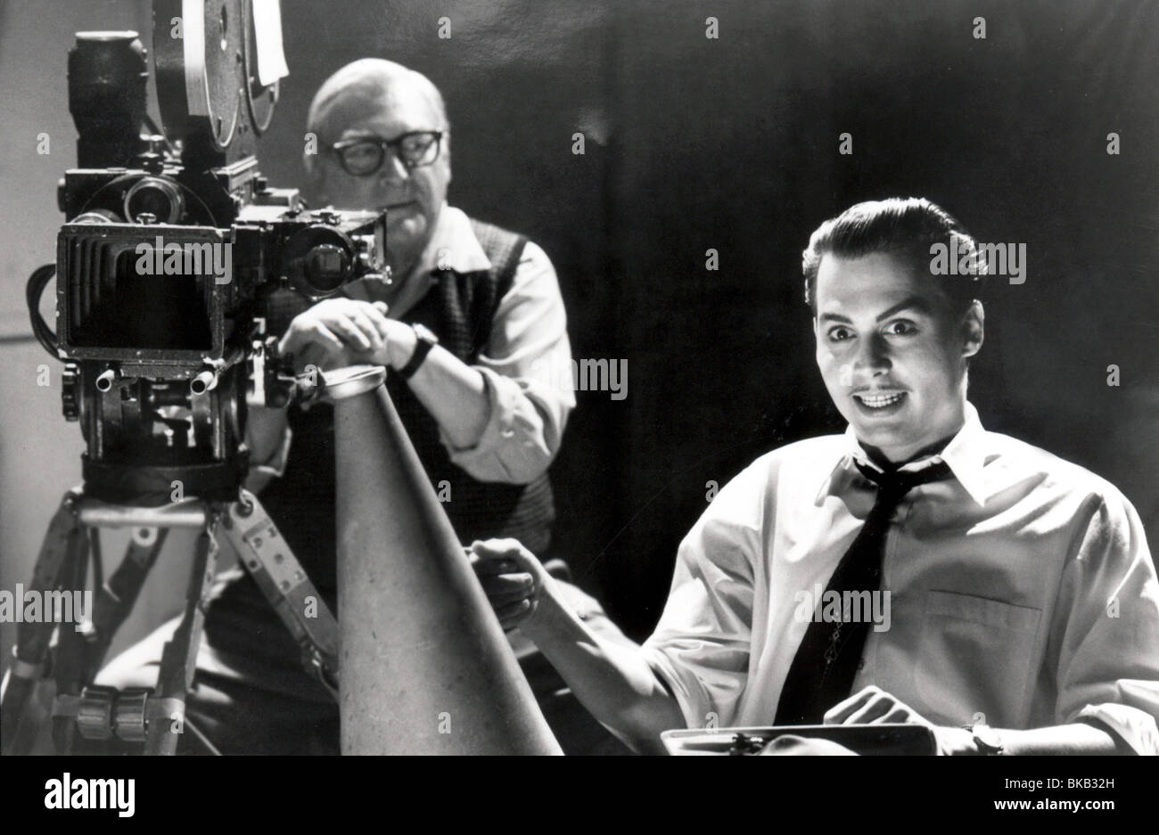 Ed Wood Year : 1994 Director  : Tim Burton Johnny Depp - Stock Image