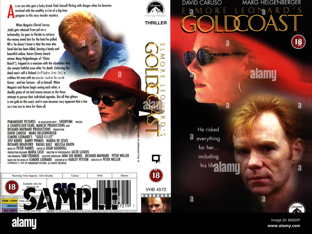 GOLDCOAST (1997) MARG HELGENBERGER, DAVID CARUSO GOST 001VS Stock Photo